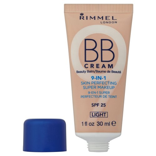 Rimmel BB Cream 9-in-1 Super Makeup, Light