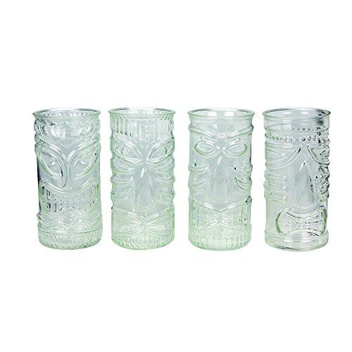 4 Tiki Bar Cocktail Glasses Cocktailgläser