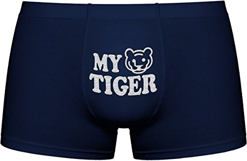 Cool Boxer briefs | My Tiger | Innovative gift. Birthday present. Gift Idea. Novelty item. Scuro