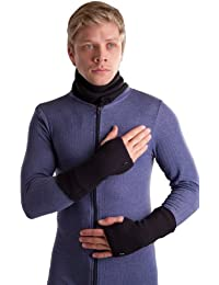 OCTAVE® Unisex Wrist Warmers Fingerless Gloves Regular Length - Keep Your Hands Warm and Fingers Free