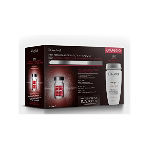 NEW KIT 2016 Kérastase Anticaduta Aminexil® x30 + Bain Prévention 250ml