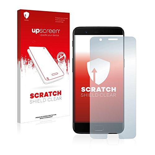 upscreen Scratch Shield Schutzfolie für OnePlus 5 - Kristallklar, Kratzschutz, Anti-Fingerprint