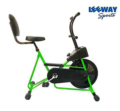 Leeway Exercise Cycle with Back Support| Fix Handle Gym bike For Home Use| Deluxe Design of Fitness| Lifeline for Cardio Work Out| Weight Loss Cross fit Equipment| Stamina BGA 201 Exercise Bike  available at amazon for Rs.4889