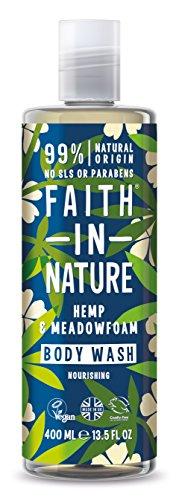 Faith in Nature Chanvre Gel Douche/Bain Moussant