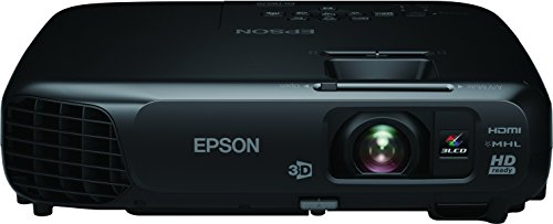 Epson EH-TW570 LCD Projektor (WXGA 1280 x 800 Pixel, Kontrast 15000:1, 3000 ANSI Lumen)