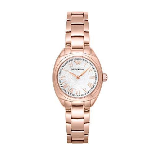 Emporio Armani Ladies Rose Gold Plated Bracelet Watch AR11038