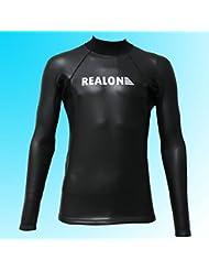 2mm Taille 2X L Super Stretch lisse peau Combinaison de plongée en néoprène pour homme Surf Haut