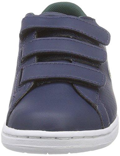 Lacoste CARNABY EVO REI Unisex-Kinder Sneakers Blau (DK BLU/DK BLU DB4)