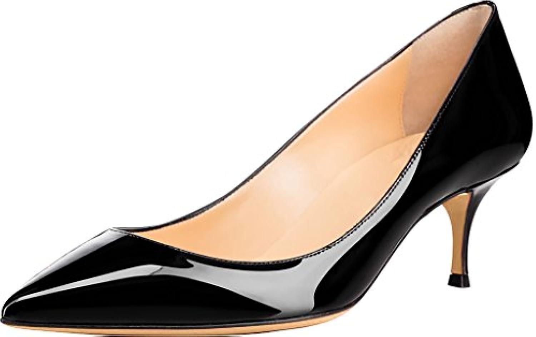 Calaier Cabelow, Scarpe col tacco donna nero Dimensione  44 | Bella apparenza  | Uomini/Donne Scarpa