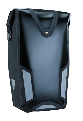 TOPEAK Gepäckträger DX Drybag, 63009839B, Schwarz, 11x11.8/7.1x25.6-Inch -