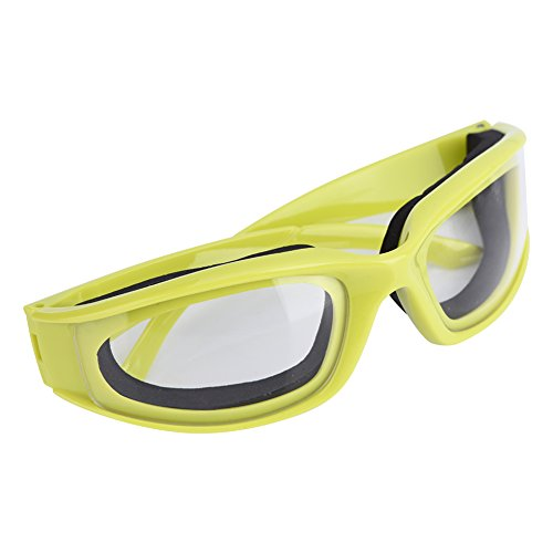 Fdit Kitchen Onion Goggles Anti-würzige Zwiebel Ausschnitt Schutzbrillen Anti-Splash Schutzgläser Eye Protector Kitchen Gadget Zwiebelbrille Schutzbrille