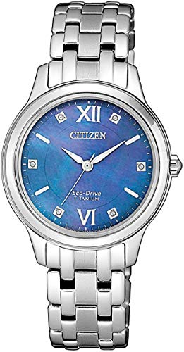 Citizen Women's Solar Watch Eco-Drive Super Titanium EM0720-85N