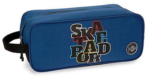 Movom Skateboard Bolsa de Viaje, 34 cm, 7.14 Litros, Azul MOVOM