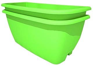 Rainwater Terrace 2718-2-PK-BG Planter Kit - Bright Green (Pack of 2) (B00UXJLG56) | Amazon price tracker / tracking, Amazon price history charts, Amazon price watches, Amazon price drop alerts