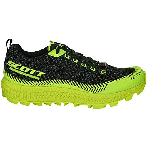 Scott, Scarpe da Trail Running Donna Nero Black/Yellow, Nero (Black/Yellow), 42