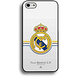 La Liga Real Madrid CF Funda/Carcasa, iPhone 6/6s Real Madrid Logo carcasa de silicona