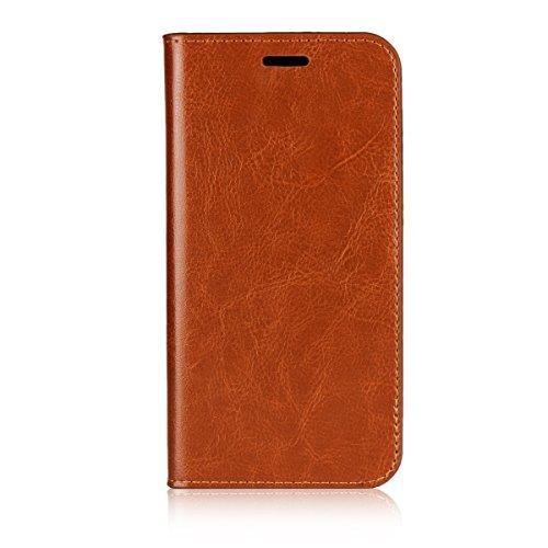 bc88a6da7e7 HTC U11 Life billetera caso, HTC U11 Life caso, Wendapai Prima Cuero Zipper  billetera
