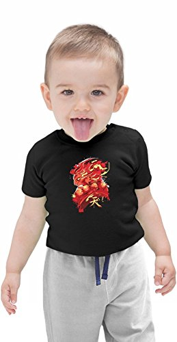 Gouki Red Organic Baby T-shirt, Vêtements