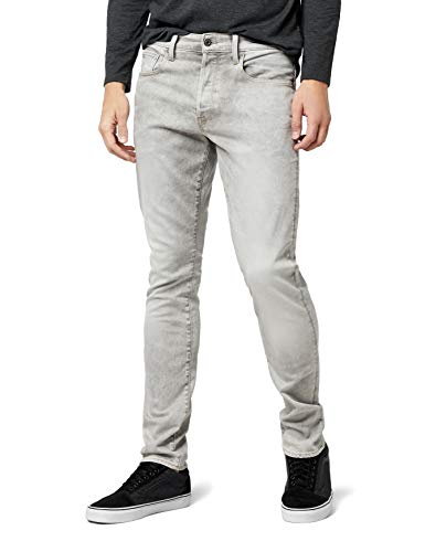 G-STAR RAW Herren Straight Tapered Jeans 3301 Straight Tapered, Blau (Lt Aged 7607-424), 33/34