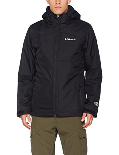 Columbia Sportswear Herren Aravis Explorer 3 in 1 Interchange Jacket, Black, L (Mens Explorer Jacket)