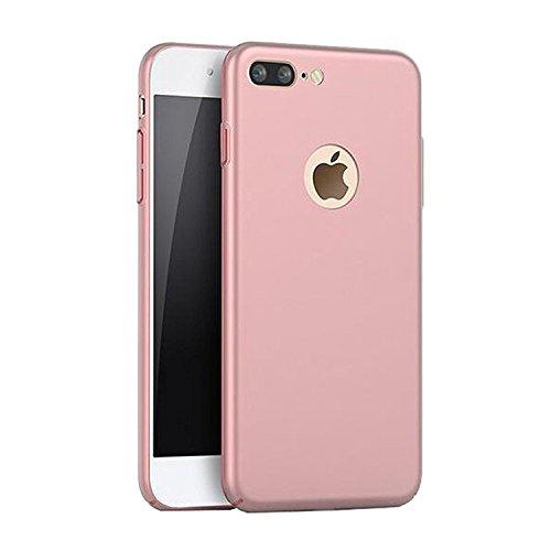 Qissy® Schutzhülle für iPhone 7 plus Hülle Caseschrubben PC Crystal Hülle Schlank Transparent Weicher Gel Silikon Handy Hülle Bunt Telefon Kasten Abdeckung Case 5.5 inch (3) 1