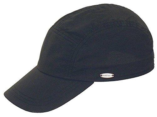 mayser Riccardo plastique Chapeau Noir - Noir
