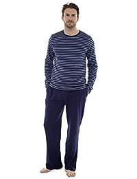 Pyjama Hommes Coton Haut Manches Longues Set Pyjama