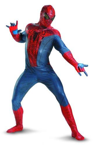 e Amazing Spider-Man Movie Erwachsene Jumpsuit Kostüm, rot/blau/schwarz, Xx-Large (50-52) ()