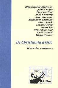 De Christiania à Oslo par Bjørnstjerne Bjørnson