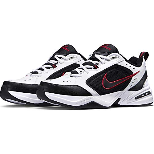 Nike Air Monarch IV, Scarpe da Fitness Uomo, Bianco (White/Black 101), 43 EU