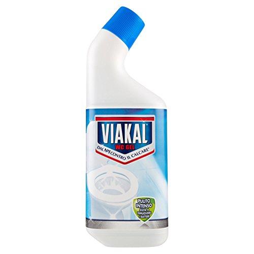 Viakal - WC Gel, Contro il Calcare - 3 pezzi da 750 ml [2250 ml]