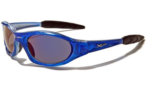 X-Loop Lunettes de Soleil - Sport - Cyclisme - Ski / Mod. 1002 Rouge / Taille Unique Adulte / Protection 100% UV400 YK20aAR0aW