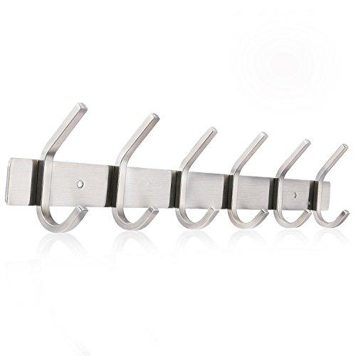 Ruicer ganchos percheros de pared percha acero inoxidable - Percheros de acero ...