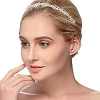Unbekannt Details zu Tiara Haarschmuck Silber Gold Rosegold Diadem Krone Perlen Strass Haarreifen Braut Hochzeit Reifen
