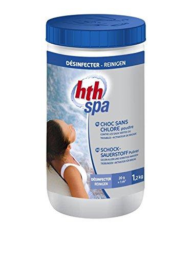 HTH Spa choc - Poudre - 1,2kg