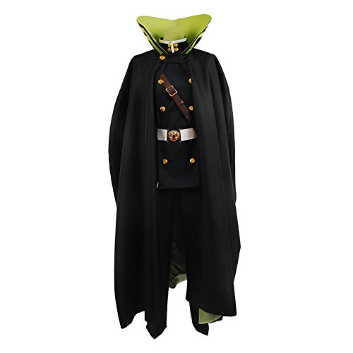 Seraph of the End Yuichiro Hyakuya Uniform Outfit Cosplay Kostüm Herren ()