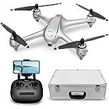 Drone GPS Con Motore Brushless Potensic Drone D80 WIFI Con Telecamera 1080P HD Dual GPS Funzione di RTH, Altitudine Attesa, Allarme di Bassa Pressione e Segnale Debole Dotato di Valigetta
