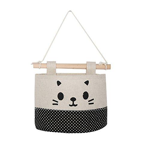 Hängeorganizer Wand Hängenden COLORFUL Cartoon Katze hängende Aufbewahrungstasche Schutt Tasche Wand Kombination (A) -