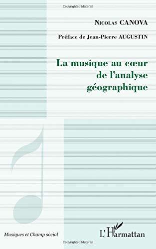 La musique au coeur de l'analyse géographique par Nicolas Canova