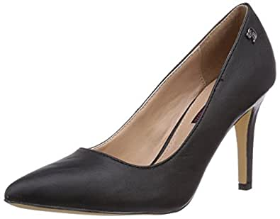 tom tailor damenschuhe damen pumps schwarz black 39 eu schuhe handtaschen. Black Bedroom Furniture Sets. Home Design Ideas