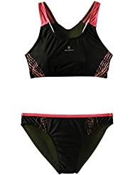 TECNOPRO Mujer Bikini rilea Negro/Rosa, black/pink light, 40