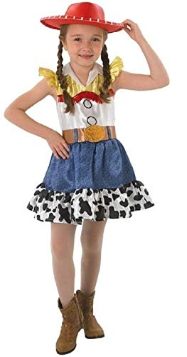 licence officielle Disney Toy Story Filles Jessie Cowgirl Livre jour Halloween déguisement costume tenue ages 3-10 an - Multi, 7-8 Years