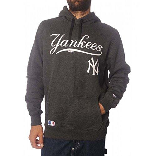 New Era Ne92236Fa16 Mlb Po Neyyan Grh - Felpa-Linea New York Yankees da Uomo, colore Grigio, taglia S