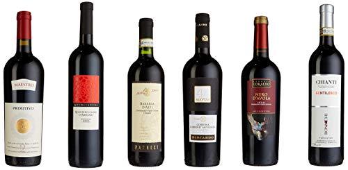 Weinpaket 'Rotweinreise durch Italien' (6 x 0.75 l)