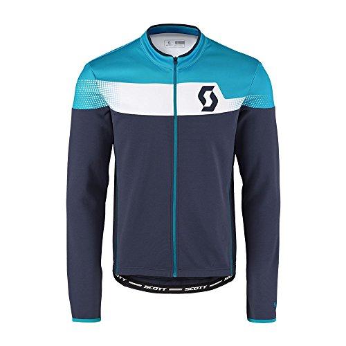 Scott Endurance AS Winter Fahrrad Trikot blau/blau 2017: Größe: XXL (58)
