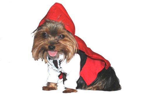ion little red riding Dog Kostüm, groß (Der Big Bad Wolf Kostüm)