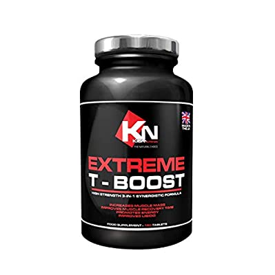 Testosterone Booster – EXTREME T-BOOST - High Strength 3 -IN-1 Synergistic Formula for Men -180 Capsules, Boosts Your Testosterone for Natural Stamina, Strength and Endurance, Testosterone Support Supplement – Increases Muscle Mass - Improves Muscle Recov