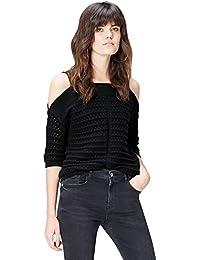 Amazon Brand - find. Women's Cold Shoulder Jumper