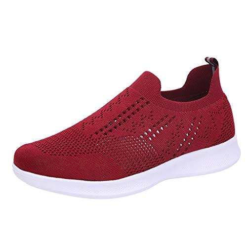 POLPqeD Sneaker Donna,Scarpe Donna Ginnastica Sneakers calzino No Lacci Palestra Corsa
