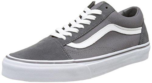 Vans Herren Ua Old Skool Sneakers, Grau (Canvas Suede Tornado/True White), 39...